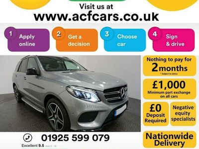 used Mercedes GLE250 GL ClassD 4MATIC AMG LINE PREMIUM - CAR FINANCE FR £418 PCM