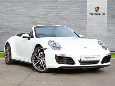 used Porsche 911 Carrera 4 Cabriolet 911 2dr PDK [991]