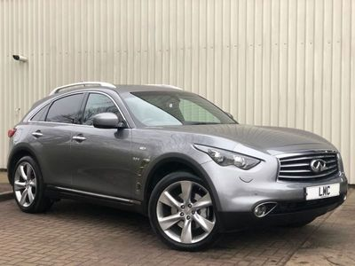 used Infiniti QX70 3.0 S PREMIUM D 5DR 235 BHP ONLY 1 OWNER FROM NEW -