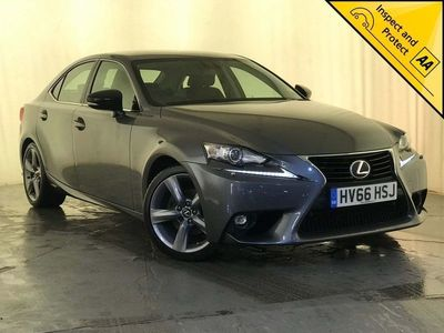 used Lexus IS300 2.5 Sport E-CVT 4dr BLUETOOTH 1 OWNER SVC HISTORY 2016