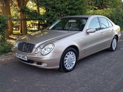 used Mercedes E320 E Class 3.2CDI Elegance 4dr