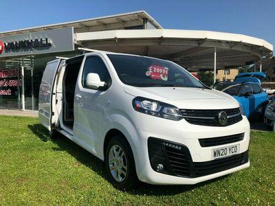 used Vauxhall Vivaro 3100 2.0d 150PS Sportive H1 Van