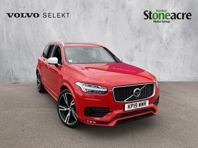used Volvo XC90 T6 R-DESIGN PRO AWD 2.0 T6 R-Design Pro SUV 5dr Petrol Auto 4WD (s/s) (310 ps)
