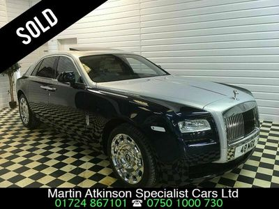 used Rolls Royce Ghost 4dr Auto ~ SOLD ~, 2012 ( )