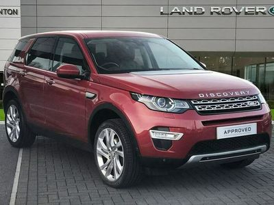 used Land Rover Discovery Sport 2.0 TD4 (180hp) HSE Luxury Auto