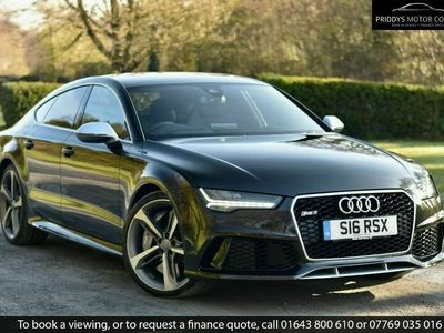 used Audi RS7 4.0 TFSI V8 QUATTRO + £10,725 DYNAMIC PLUS PACK INC CERAMICS 5dr