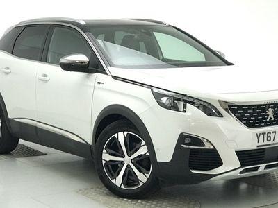 used Peugeot 3008 2.0 BlueHDi GT EAT Auto 6Spd (s/s) 5dr