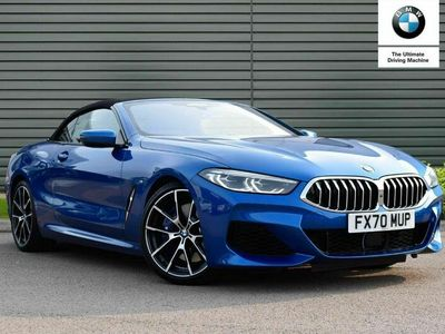 used BMW 840 8 Series Convertible i sDrive 2dr Auto