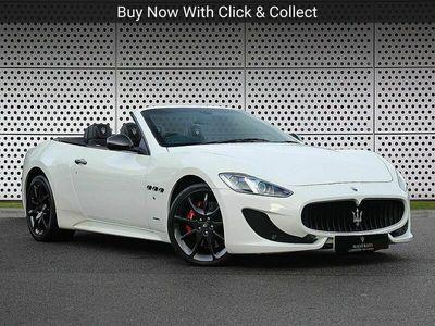 used Maserati GranCabrio V8 Sport 2dr MC Shift 4.7