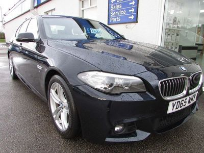 used BMW 518 5 Series D [150] M Sport 4Dr Step Auto