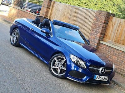 used Mercedes C220 C-Class 2.1LD AMG LINE 2d AUTO 168 BHP 1 OWNER, FULL MERCEDES SERVICE HIST