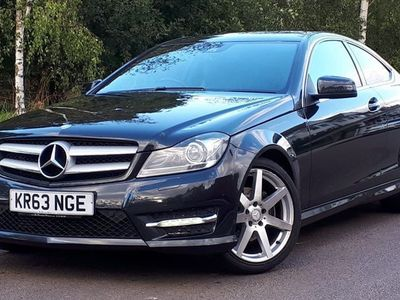 used Mercedes C180 C Class 1.6AMG Sport Sport Coupe 7G-Tronic Plus 2dr Auto