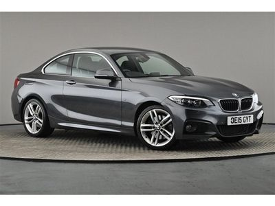 used BMW 228 2 Series i M Sport 2dr Step Auto
