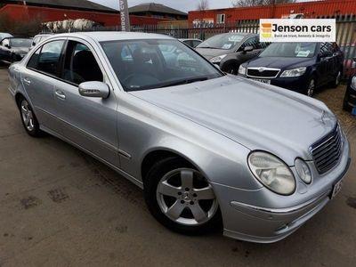 used Mercedes E320 E-Class 3.0CDI AVANTGARDE 4d 222 BHP
