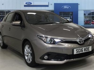 used Toyota Auris 2016 Stoke On Trent 1.6 D-4D Icon 5dr Diesel Hatchback