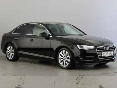 used Audi A4 2.0 TDI S Line 4dr [Leather/Alc]
