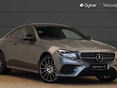 used Mercedes E50 AMG E Class4Matic AMG Line Premium 2dr 9G-Tronic