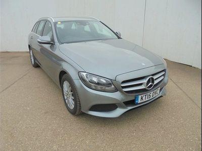 used Mercedes C220 C CLASSBlueTEC SE Executive 5dr Auto Silver Automatic Diesel