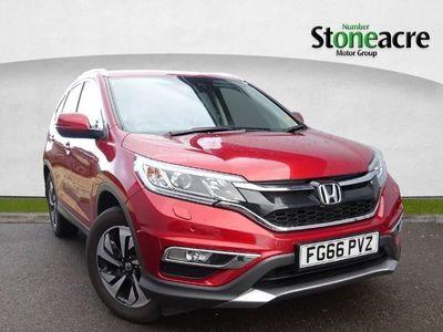 used Honda CR-V 2.0 i-VTEC SR SUV 5dr Petrol 4WD (s/s) (155 ps)