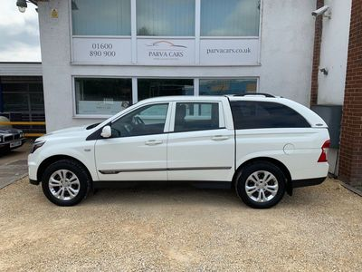 used Ssangyong Musso 2.2 TD SE Double Cab Pickup 4dr