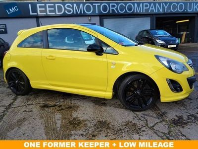 used Vauxhall Corsa 1.2 LIMITED EDITION 3d 83 BHP ONLY 56000 MILES