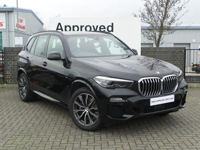 used BMW X5 DIESEL ESTATE xDrive30d M Sport 5dr Auto