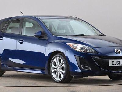 used Mazda 3 2.0 Sport [i-Stop] 5dr Blue Manual Petrol