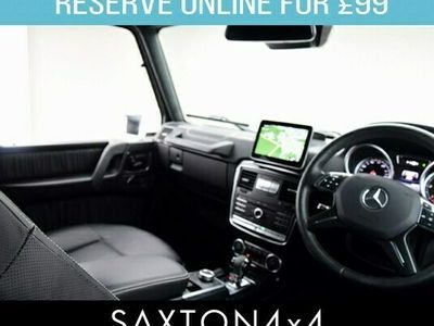 used Mercedes G350 G Class 3.0CDi Night Edition G-Tronic 4WD (s/s) 5dr