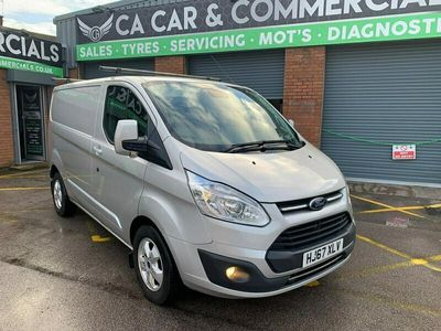 used Ford Custom Transit2.0 TDCi 130ps Low Roof Limited Van, 2017 (67)