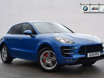 used Porsche Macan Turbo ESTATE 5dr PDK 3.6