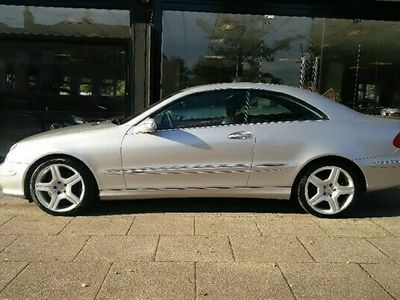 used Mercedes CLK240 CLK 2.6Elegance Coupe 2d 2597cc auto 2-Door
