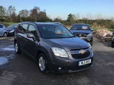 used Chevrolet Orlando 1.8 LT 5dr **EXTENSIVE SERVICE HISTORY - 7 SEATER**