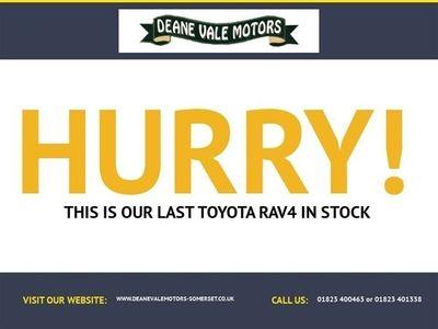 used Toyota RAV4 2.2TD SR180