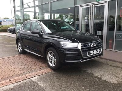 used Audi Q5 2020 Stockport 40 TDI Quattro Sport 5dr S Tronic [Tech Pack]