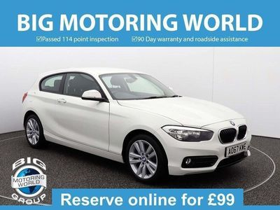 used BMW 116 1 Series D SPORT Hatchback 2017