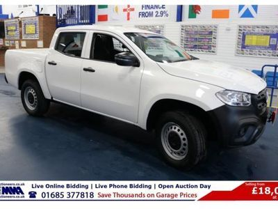 used Mercedes 250 X Class2.3 PURE D 190PS 4MATIC DOUBLE CAB PICK UP, 2018, not known, 30000 miles.