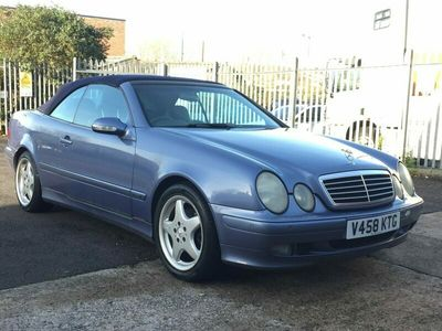 used Mercedes CLK320  C Class (V)3.2 petrol automatic 2-Door ONLY 110K MILES *NEW MOT*