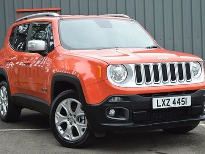 used Jeep Renegade 2.0 Multijet Limited 5dr 4WD Auto