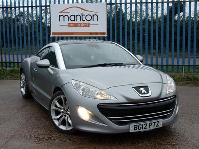 used Peugeot RCZ 1.6 THP GT 2dr + 6 Speed + Full History + 58k Coupe 2012