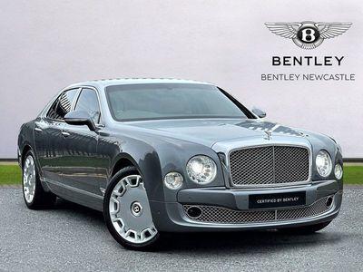 used Bentley Mulsanne 6.8 V8 Mulliner Driving Spec 4dr Auto