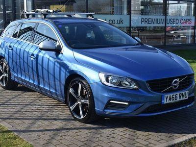 used Volvo V60 2.0 D4 R-Design Nav (s/s) 5dr