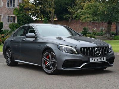 used Mercedes C63S AMG C Class AMGPremium Plus 4dr 9G-Tronic Saloon 2019