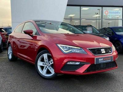 used Seat Leon SC FR Technology 1.4 EcoTSI 150 PS 6-speed manual 3dr