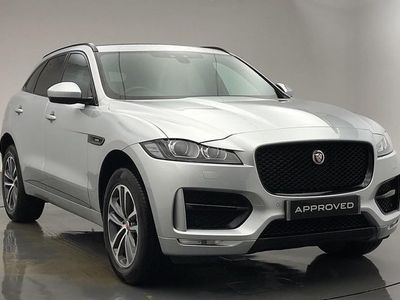used Jaguar F-Pace 2.0 i4 Diesel (240PS) R-Sport AWD 5dr