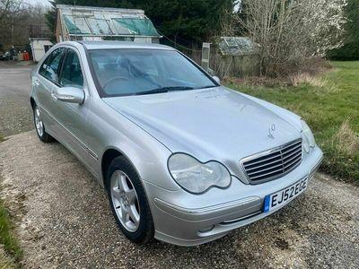 used Mercedes C270 C Class 2.7CDI Avantgarde SE 4dr
