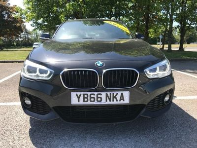 used BMW 118 1 Series d M Sport Hatchback 2017