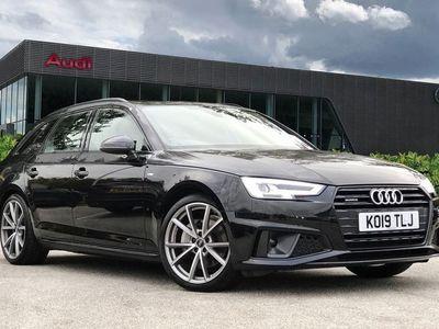 used Audi A4 Avant Black Edition 40 TDI quattro 190 PS S tronic 2.0 5dr