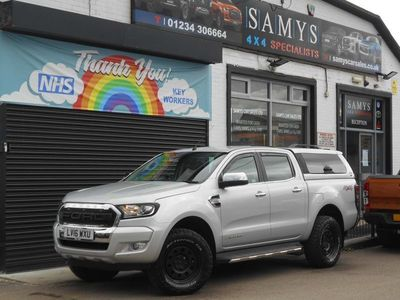 used Ford Ranger 2.2 TDCi Limited 1 Double Cab Pickup 4WD (s/s) 4dr (Eco Axle)