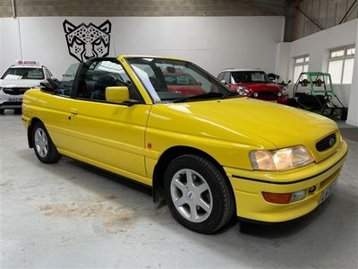 used Ford Escort Cabriolet 1.8 Si 2dr