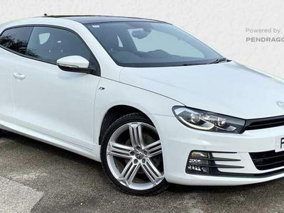 used VW Scirocco 2.0 TDi 184 BlueMotion Tech R-Line 3dr DSG Auto